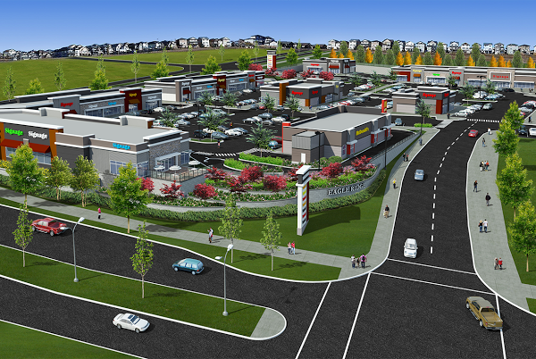 proposed Eagle Ridge Retail Centre