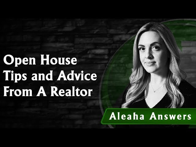 Open House Tips for Buyers