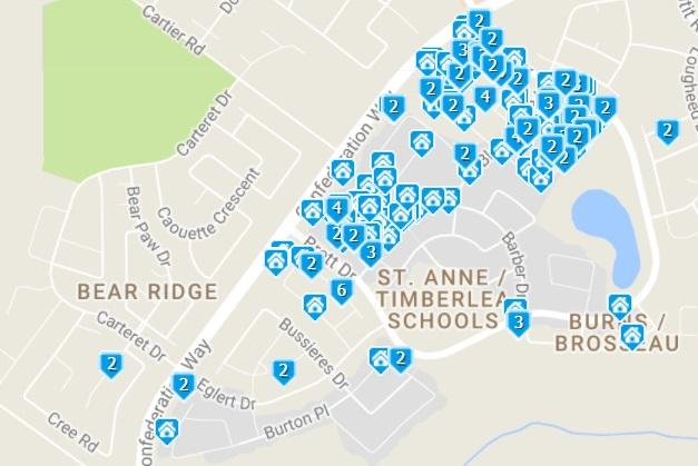 homes for sale timberlea