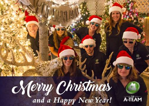 Merry Christmas from The A-Team!