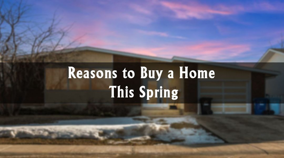 Reasons to Buy a Home This Spring