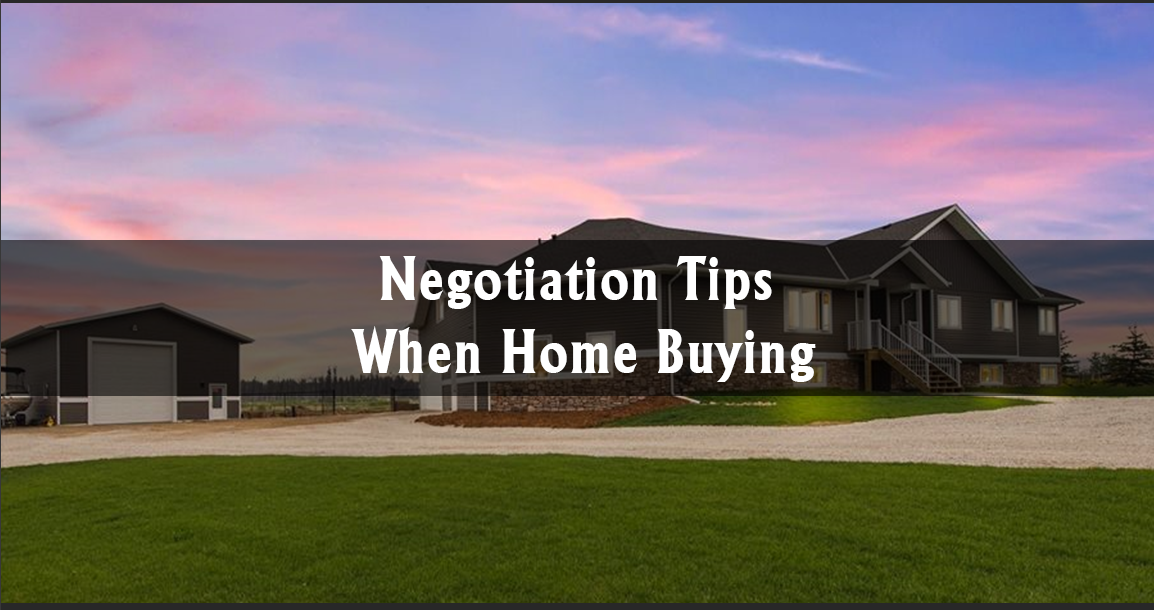 Negotiation Tips When Home Buying