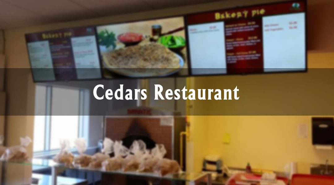 Downtown Highlights: Cedars Restaurant