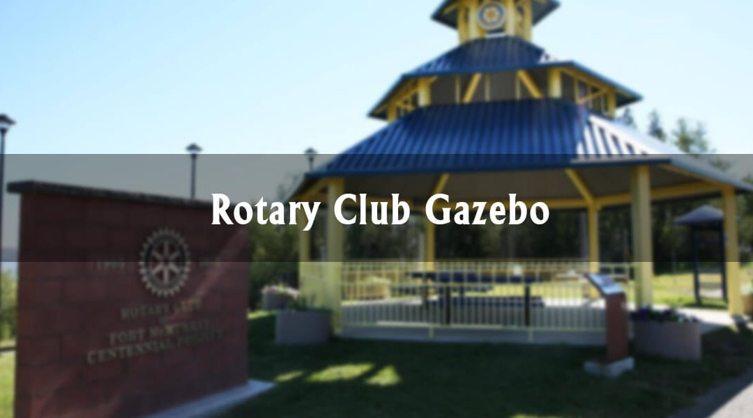 The Rotary Club Gazebo in Thickwood Heights