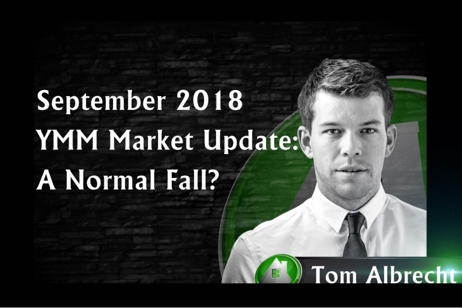 September 2018 Fort McMurray Market Update: A Normal Fall?
