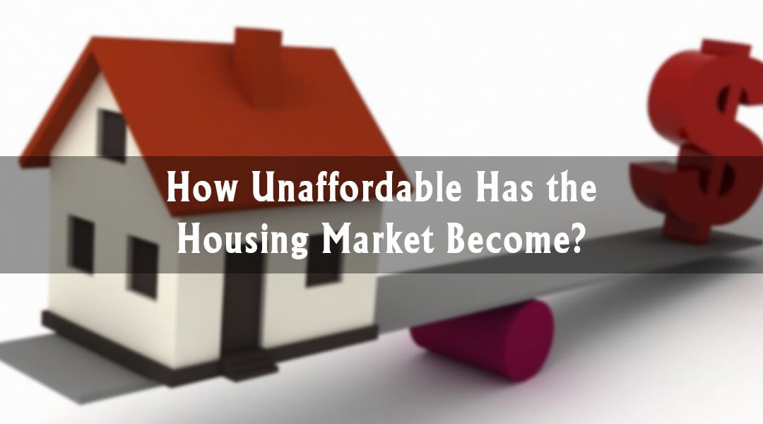 How Unaffordable Has the Canadian Housing Market Become?