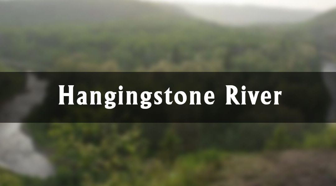 The Hangingstone River in Fort McMurray