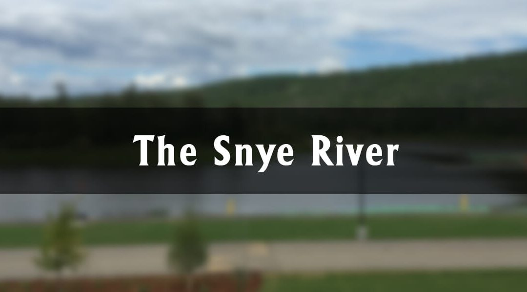 The Snye River