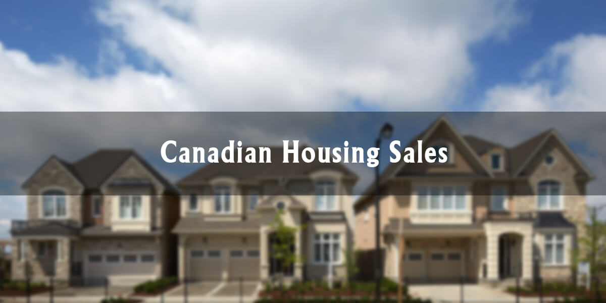 Canadian Housing Sales