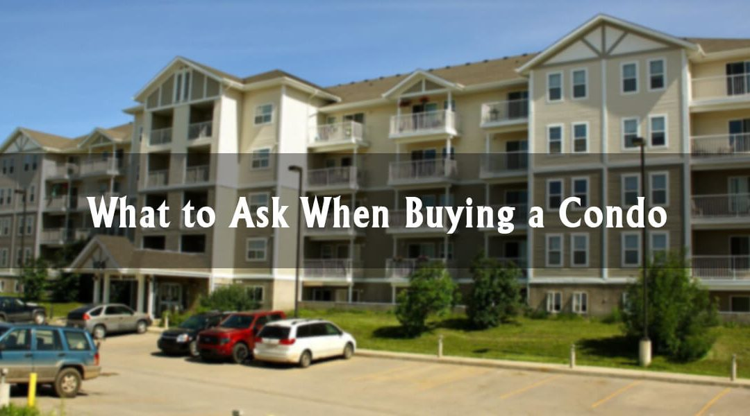 What to Ask When Buying a Condo