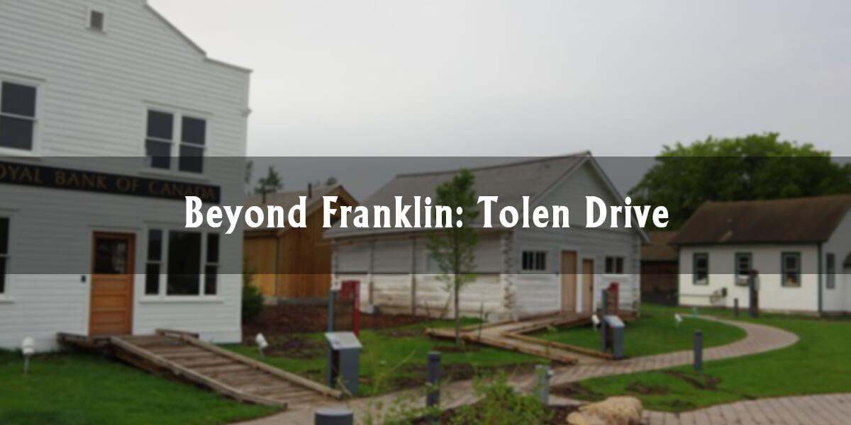 Beyond Franklin: Tolen Drive