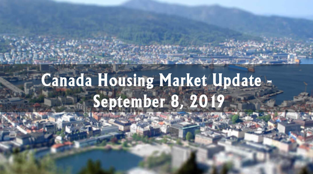 Canada Housing Market Update - September 8, 2019