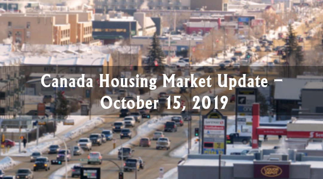 Canada Housing Market Update – October 15, 2019